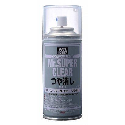 GNZ-Gunze Sangyo B514  Mr SUPER CLEAR FLAT Spray