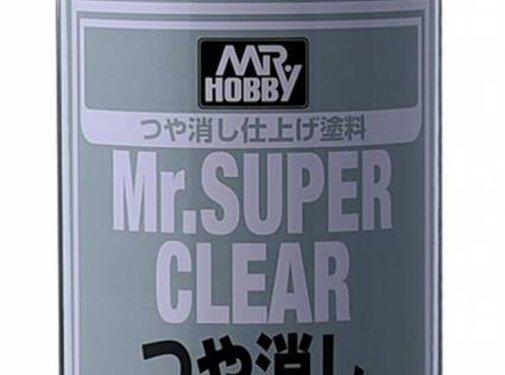 Mr. Hobby GSI - GNZ B514 Mr. Super Clear Flat Spray , GSI