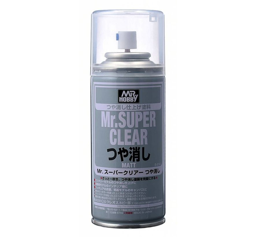 B514  Mr SUPER CLEAR FLAT Spray