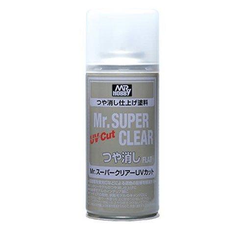 Mr. Hobby GSI - GNZ B523 Mr Super Clear UV Cut Flat