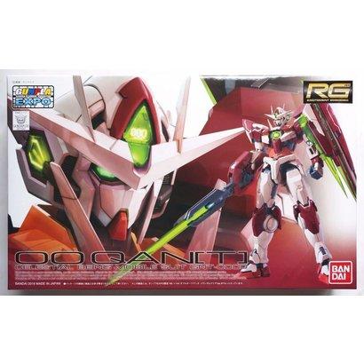 "BANDAI MODEL KITS 211247 Gundam 00 Qan[T] Trans-Am Clear Ver. ""Gundam 00"", Bandai RG 1/144"