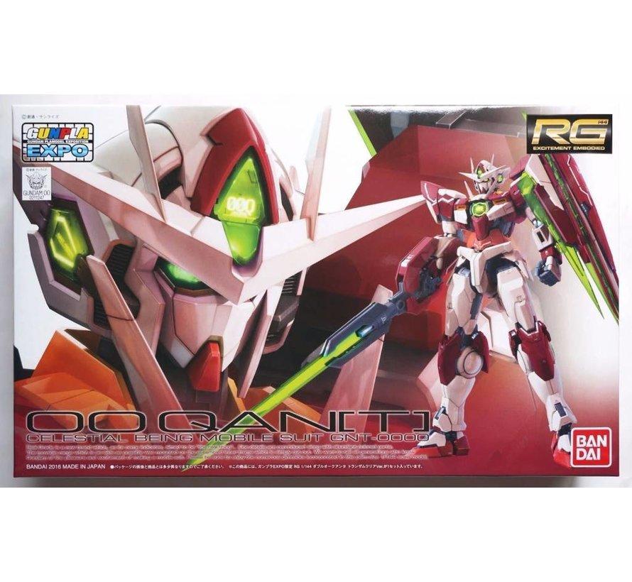 """211247 Gundam 00 Qan[T] Trans-Am Clear Ver. """"Gundam 00"""", Bandai RG 1/144"""