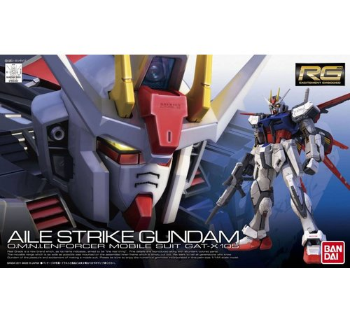 BANDAI MODEL KITS 169492 #3 Real Grade Aile Strike Gundam 1/144