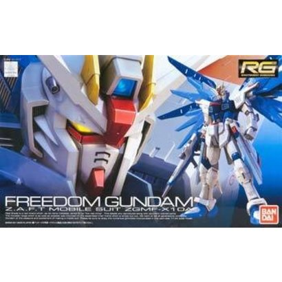 BANDAI MODEL KITS 171625 #5 Freedom Gundam RG  1/144
