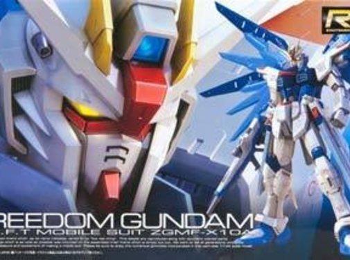 BANDAI MODEL KITS #5 Freedom Gundam RG