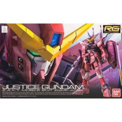 BANDAI MODEL KITS 176512 #9 Justice Gundam RG 1/144