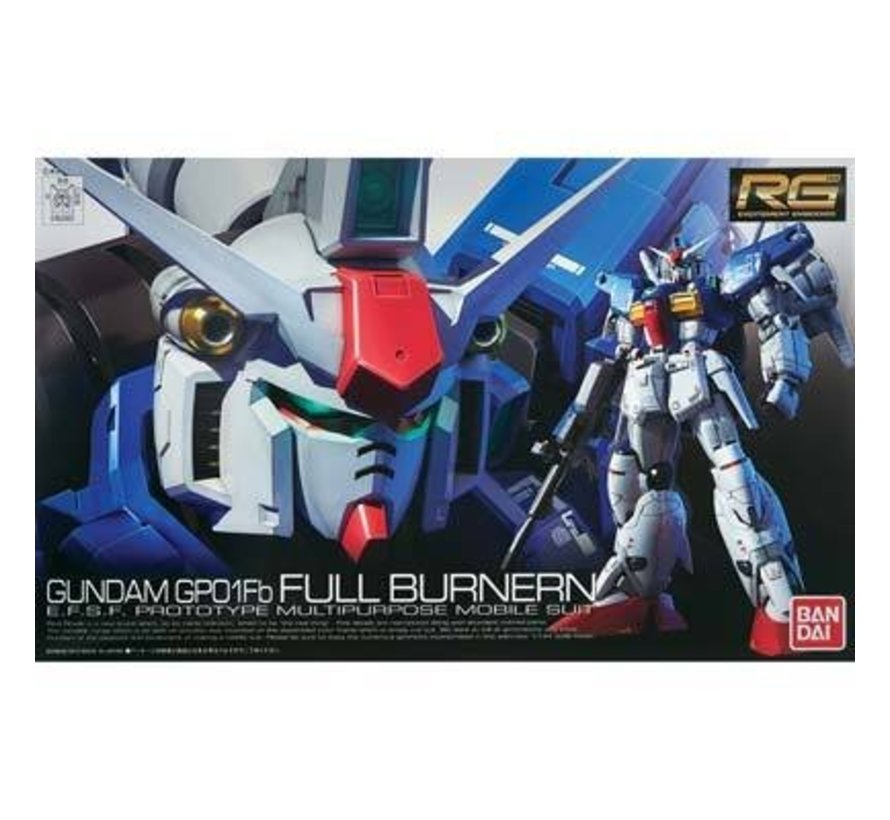 "182655 #13 RX-78 GP01-Fb Gundam ""Zephyranthes"" Full Burnern RG 1/144"
