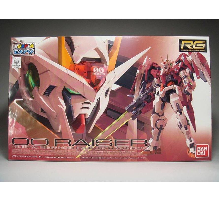 """202311 00 Raiser Trans Am Clear """"Gundam 00"""", Bandai RG"""