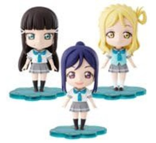 "BANDAI MODEL KITS Kanan/Dia/Mari ""Love Live! Sunshine!!"", Bandai Petiture-rise"