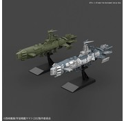 BANDAI MODEL KITS Karakrum-class Combatant ship Two-ship set