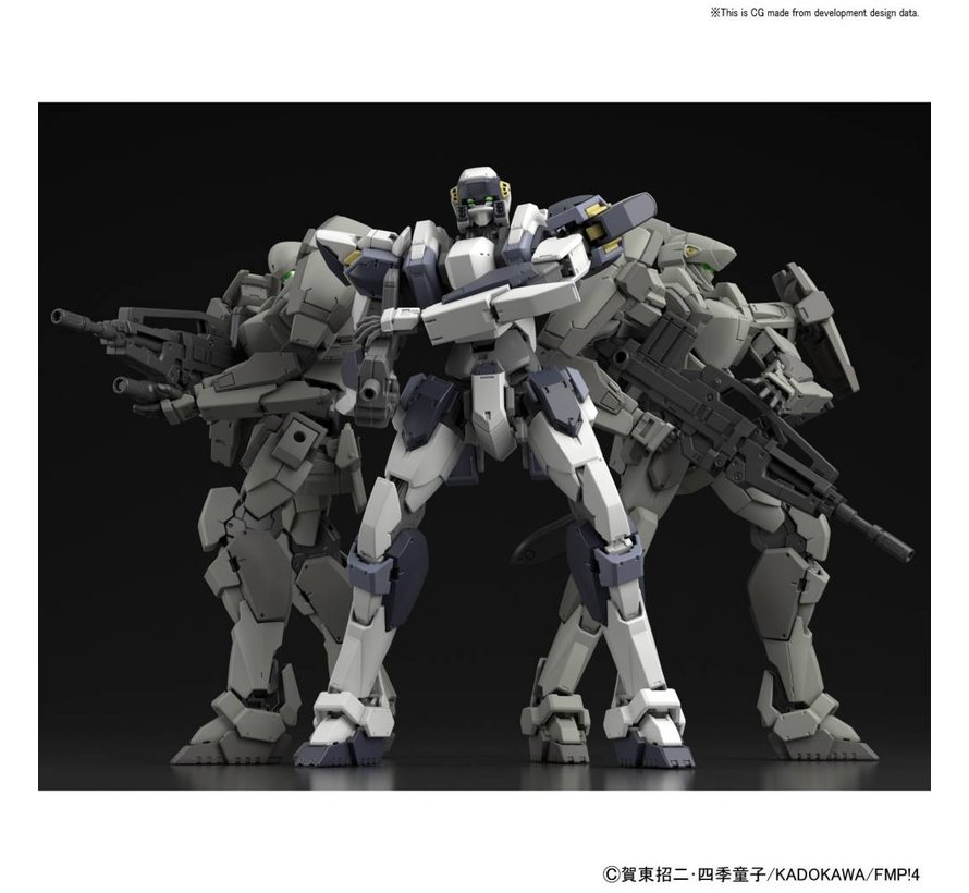 "22260 ARX-7 Arbalest (Ver. IV) ""Full Metal Panic! Invisible Victory"", Bandai 1/60"