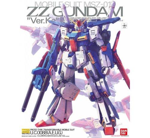 "BANDAI MODEL KITS 224519 ZZ Gundam (Ver.Ka) ""ZZ Gundam"", Bandai MG 1/100"