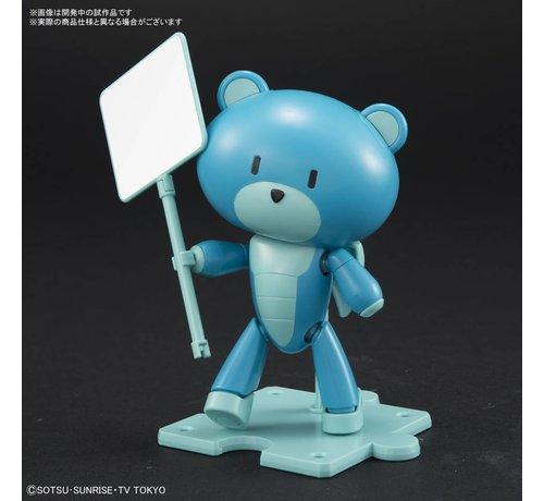 """BANDAI MODEL KITS 225737 Petittgguy Diver Blue & Placard """"Gundam Build Divers"""", Bandai HGPG"""