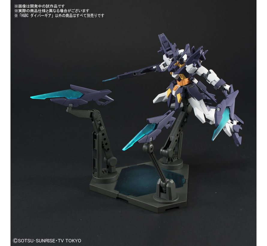 "225729 Diver Gear ""Gundam Build Divers"", Bandai HGBC"