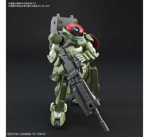 "BANDAI MODEL KITS 225735 #003 Grimoire Red Beret ""Gundam Build Divers"", Bandai HGBD"