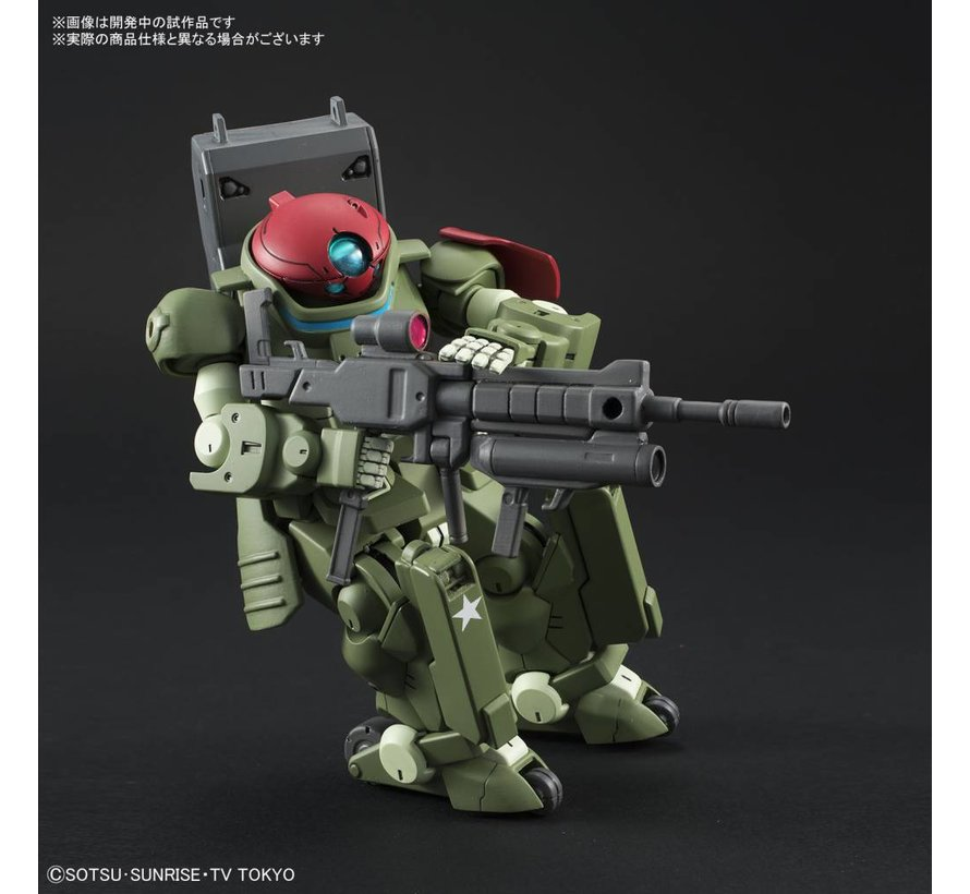 "225735 #003 Grimoire Red Beret ""Gundam Build Divers"", Bandai HGBD"