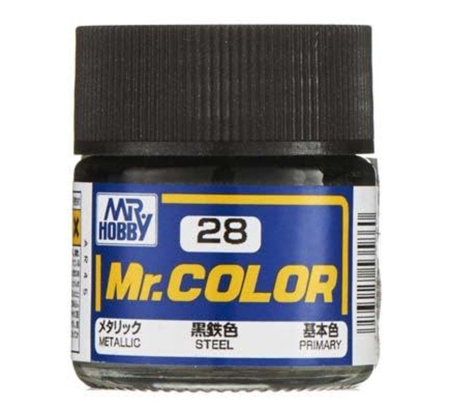 C28 Metallic Steel 10ml