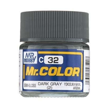 GNZ-Gunze Sangyo GNZ-C32 Semi Gloss Dark Gray 2 10ml