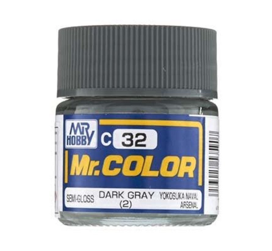 GNZ-C32 Semi Gloss Dark Gray 2 10ml