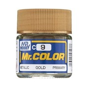 Mr. Hobby GSI - GNZ C9 Metallic Gold 10ml