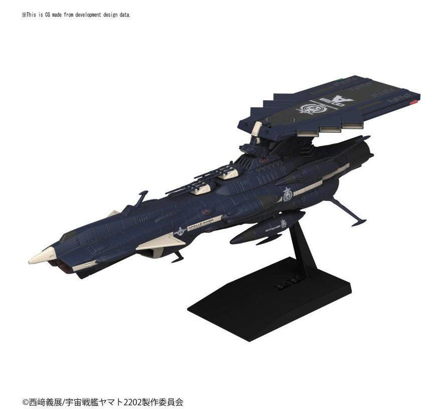 "225753 U.N.C.F. AAA-3 Apollo Norm ""Yamato 2002"", Bandai Mecha Collection"
