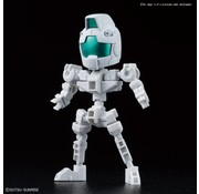 BANDAI MODEL KITS Cross Silhouette Frame (White)  SDGCS