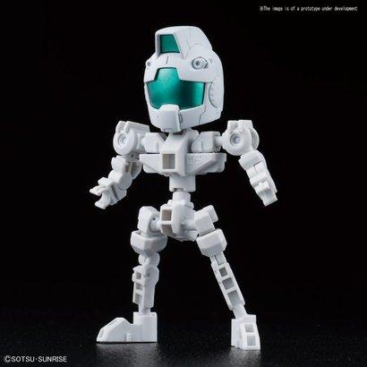 "BANDAI MODEL KITS 225765 Cross Silhouette Frame (White) ""Mobile Suit Gundam"", Bandai SDGC S"