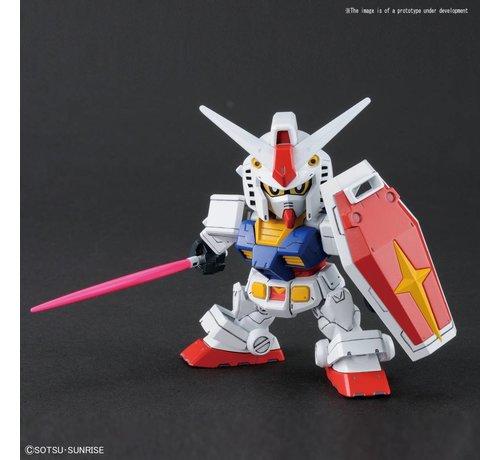 "BANDAI MODEL KITS 228381 RX-78-2 Gundam & Cross Silhouette Frame ""Mobile Suit Gundam"", Bandai SDGCS"