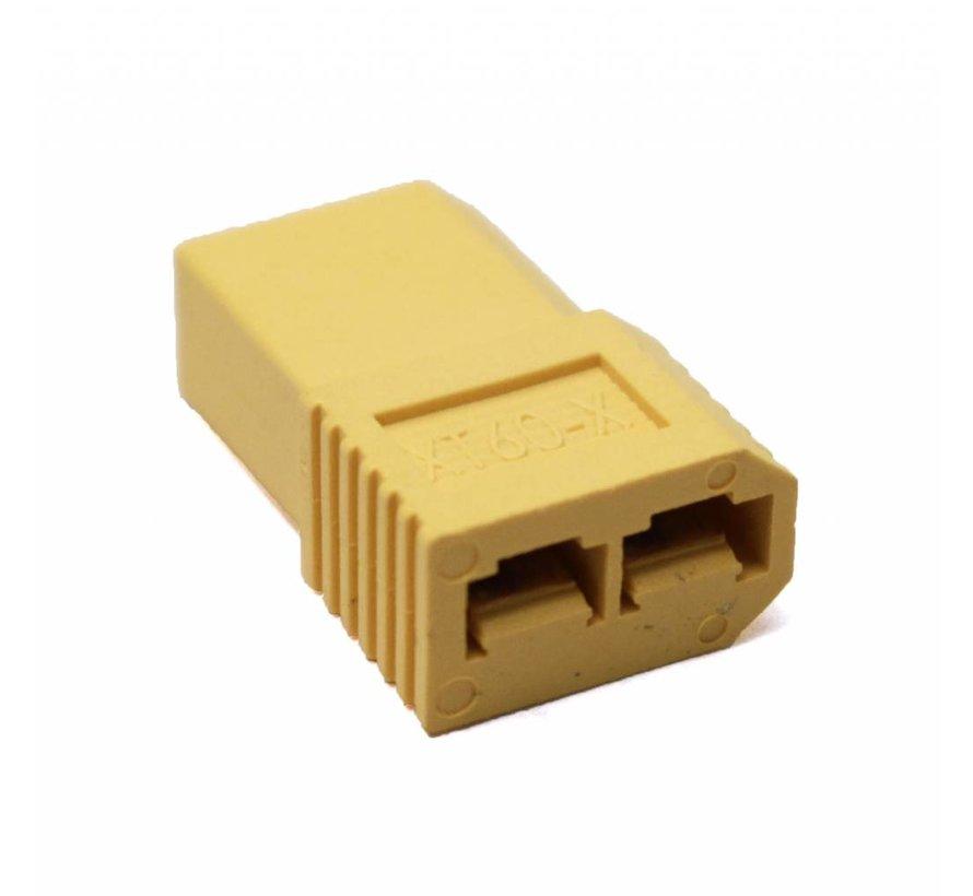 1611 Battery - ESC Adapter Plug: Female TRX to Male XT60