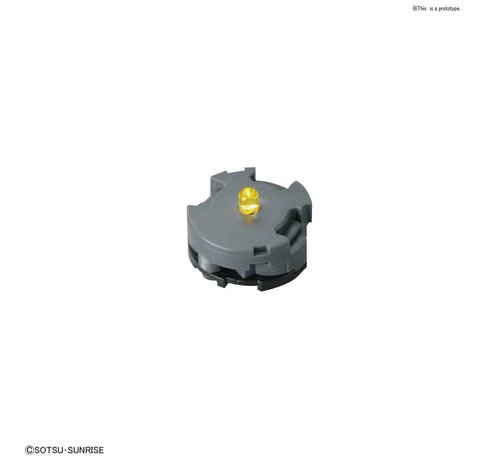BANDAI MODEL KITS 225825 LED Unit (Yellow)