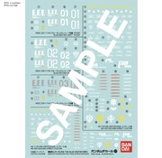 BANDAI MODEL KITS Gundam Decal 120 Mobile Suit