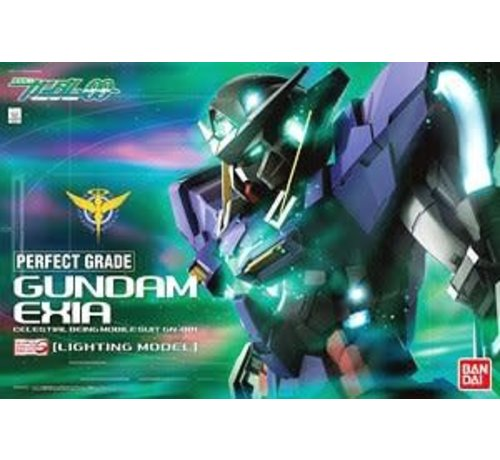 "BANDAI MODEL KITS 219773 Gundam Exia (Lighting Ver.) ""Gundam 00"", Bandai Perfect Grade (PG)"
