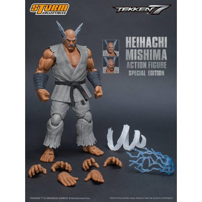 "Storm Collectibles 87057 Heihachi Mishima (Special Edition) ""Tekken 7"", Storm Collectibles 1/12 Action Figure"