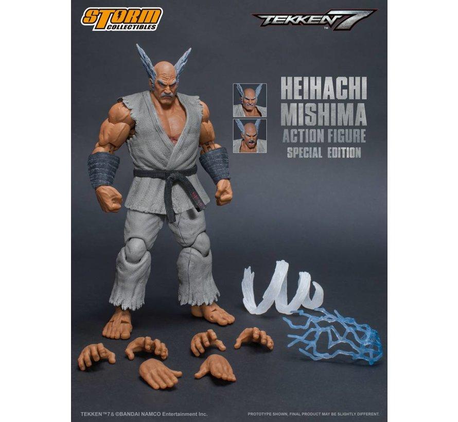 "87057 Heihachi Mishima (Special Edition) ""Tekken 7"", Storm Collectibles 1/12 Action Figure"