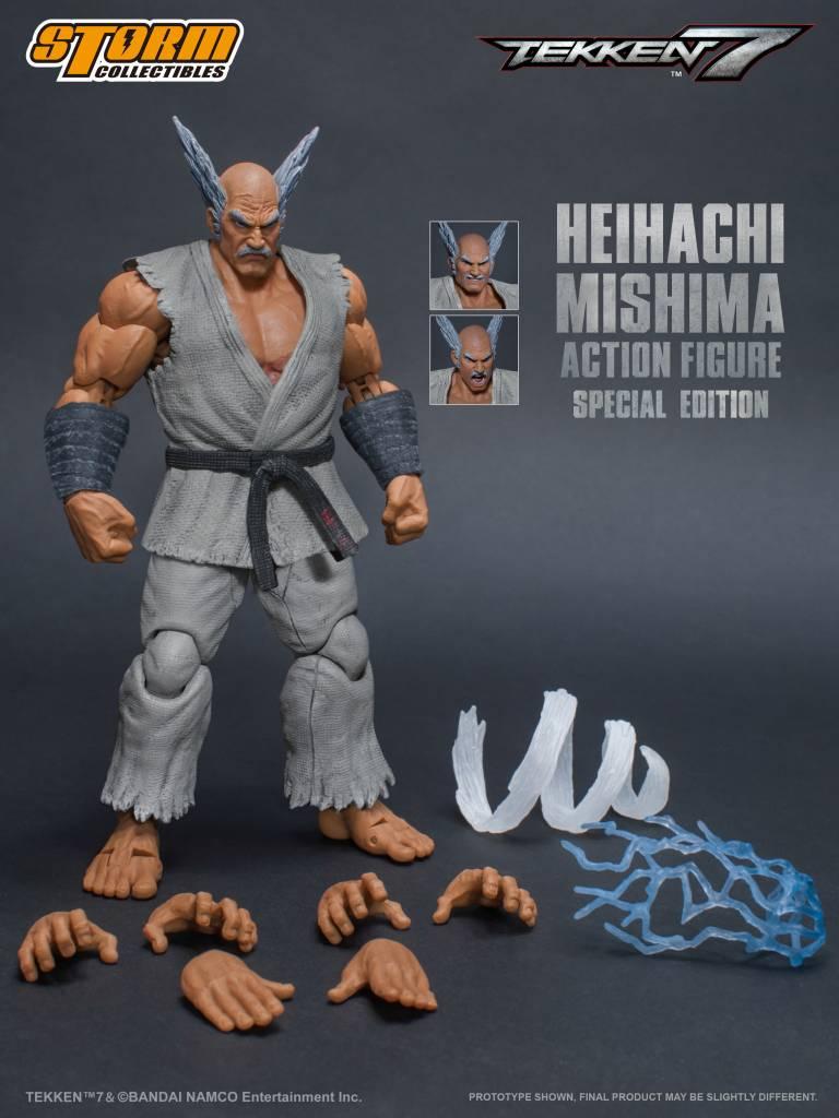 87057 Heihachi Mishima Special Edition Tekken 7 Storm Collectibles 1 12 Action Figure
