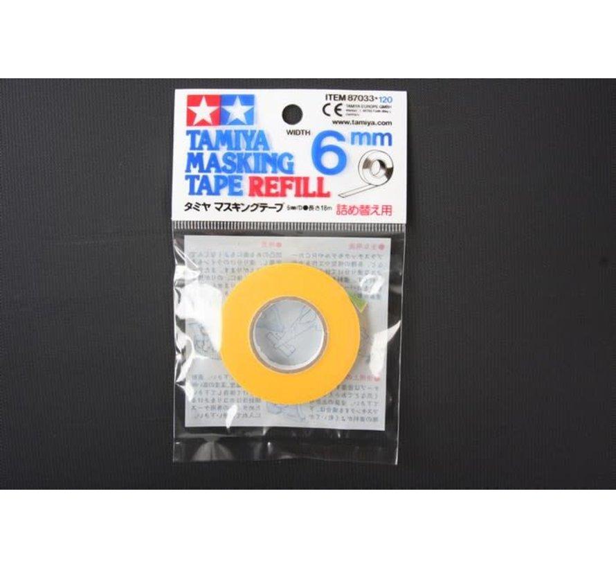 87033 Plastic Model Masking Tape Refill 6mm