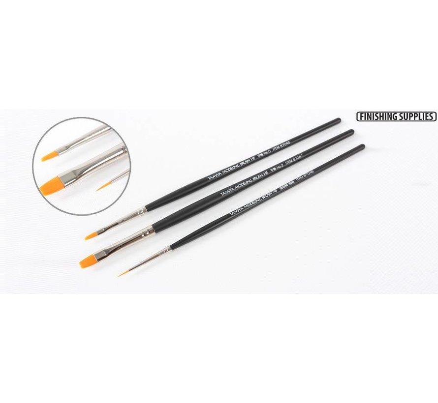 87067 Modelng Brush Hi Finish Standard Set of 3