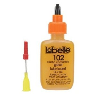 Labelle Industries (LAB) 102 Plastic Compatible Gear Lubricant with PTFE -- .5 oz  14.8mL
