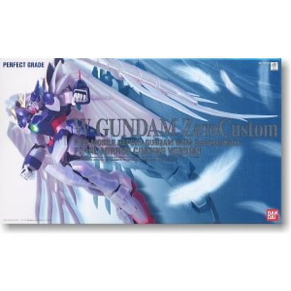 BANDAI MODEL KITS 149843 Wing Gundam Zero Custom Pearl Coating, Bandai Perfect Grade Action Figure