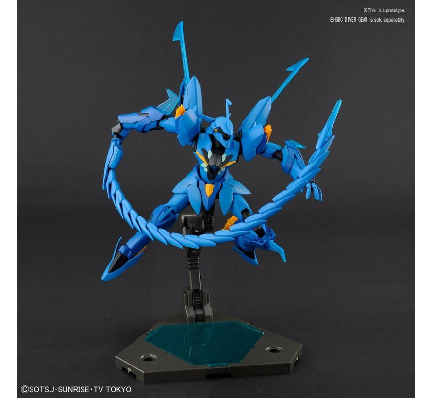 "225757 #07 Geara Ghirarga ""Gundam Build Divers"", Bandai HGBD 1/144"
