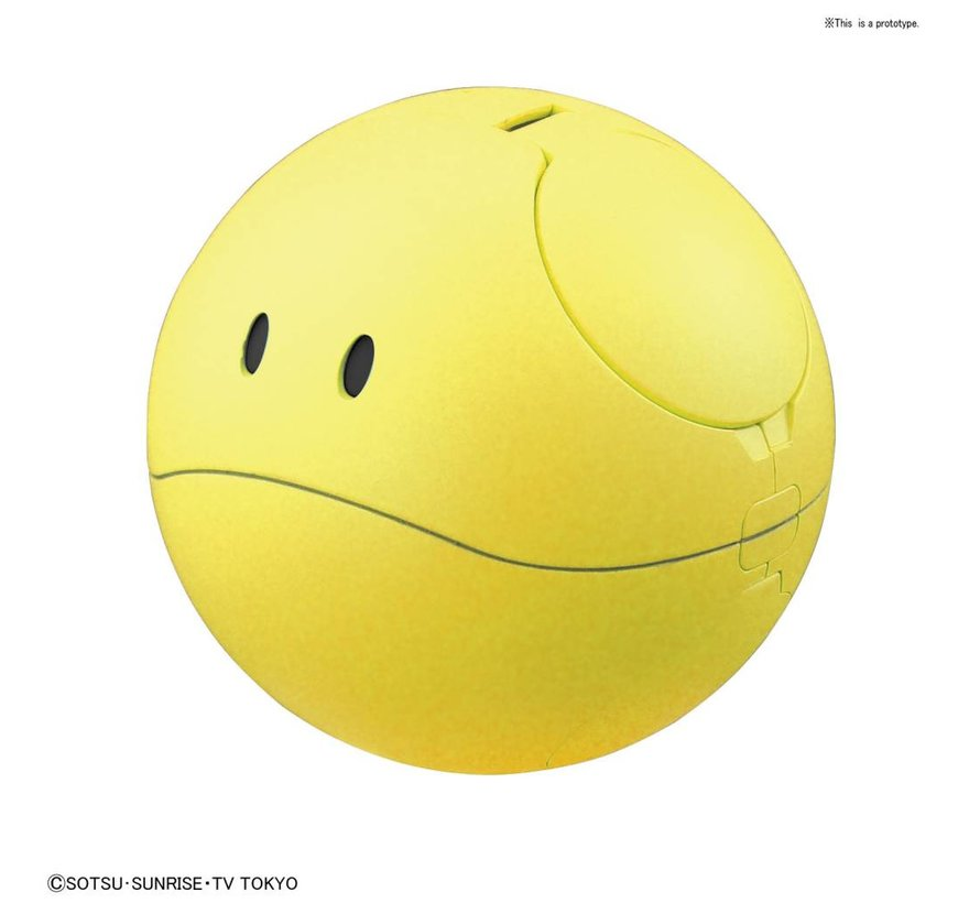 "230360 #6 Haro Happy Yellow ""Gundam Build Divers"", Bandai HaroPla"