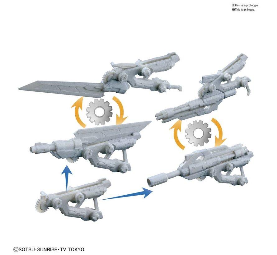 "225760 #38 Spinning Blaster ""Gundam Build Divers"", Bandai HGBC"