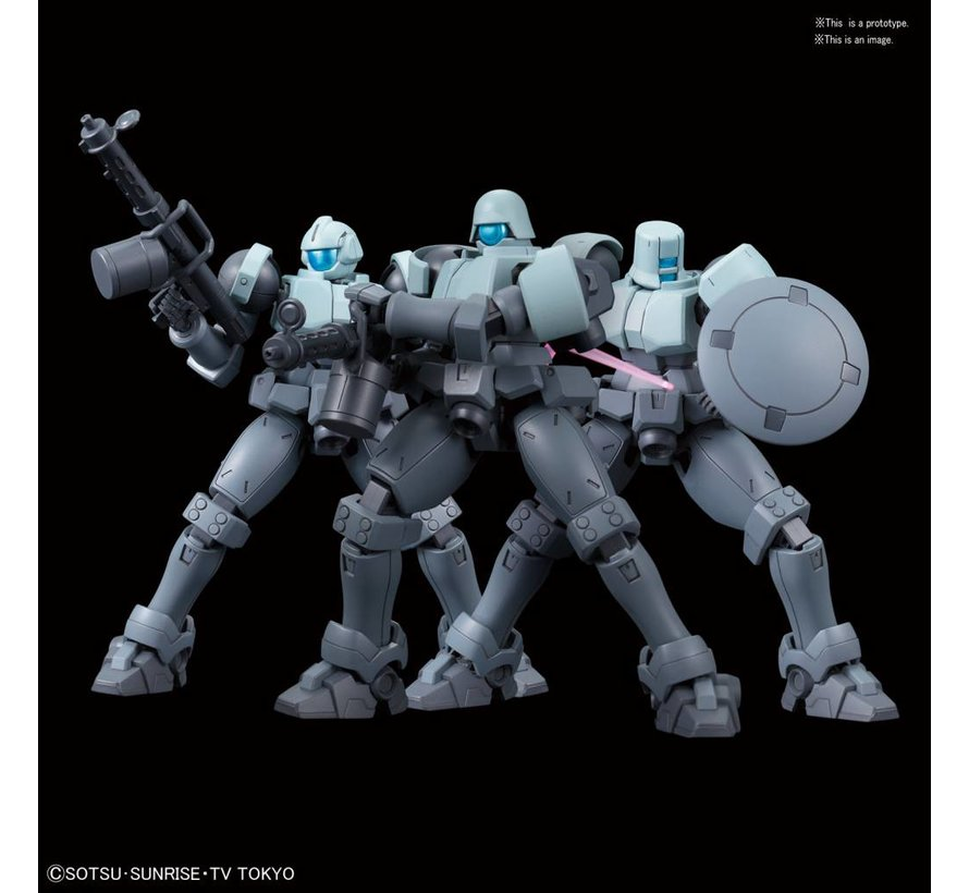 "225758 #08 Leo NPD ""Gundam Build Divers"", Bandai HGBD 1/144"