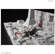 BANDAI MODEL KITS Death Star Attack Set Star Wars 1/144