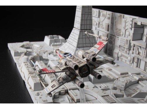 BANDAI MODEL KITS Death Star Attack Set Star Wars 1/144