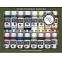 VJ70140 - Basic USA Colors - Vallejo Paint Set