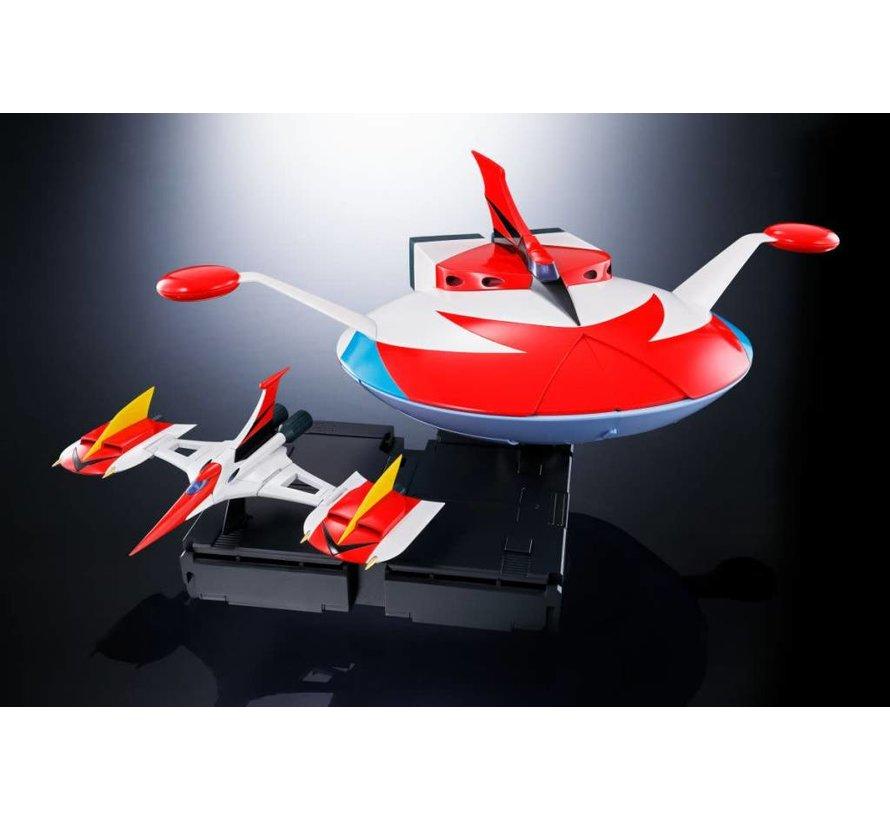 "23939 GX-76U Grandizer D.C. Spazer Set ""UFO Robot Grendizer"", Bandai Soul Of Chogokin"