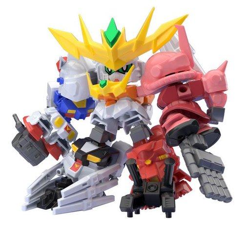 "Bandai Shokugan 25180 Super Shock Gundam ""Gundam Build Divers""  Bandai Mini Pla"