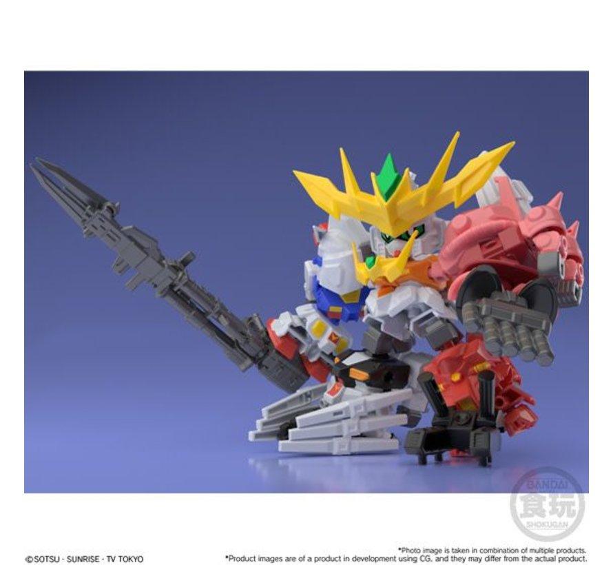 "25180 Super Shock Gundam ""Gundam Build Divers""  Bandai Mini Pla"