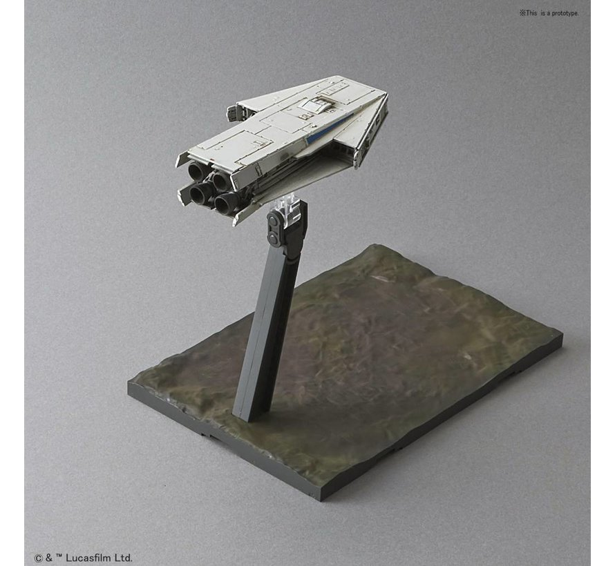 "225754 Millennium Falcon (Lando Calrissian Ver.) ""Solo: A Star Wars Story"", Bandai Star Wars 1/144 Plastic Model Kit"